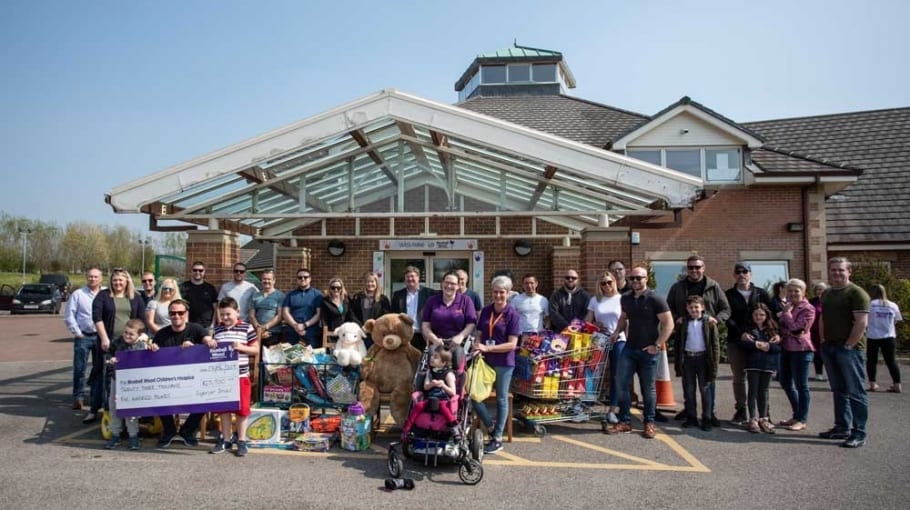 Bluebell Wood Hospice Easter Visit