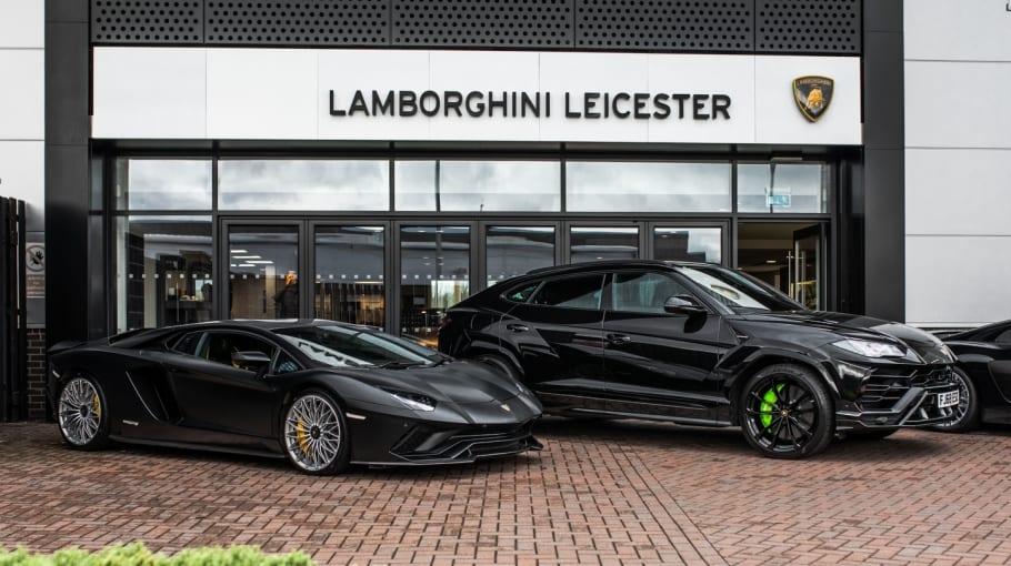 Lamborghini Leicester Breakfast meet