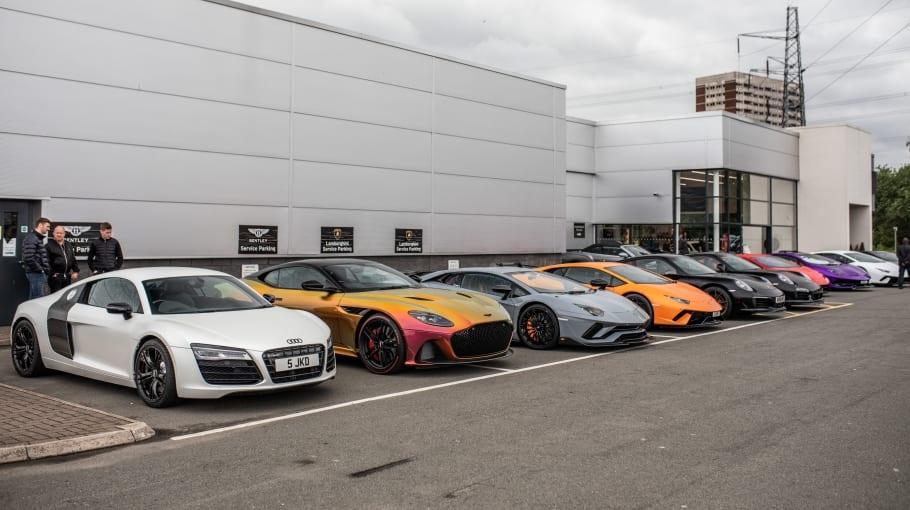 Lamborghini Birmingham Breakfast Meet