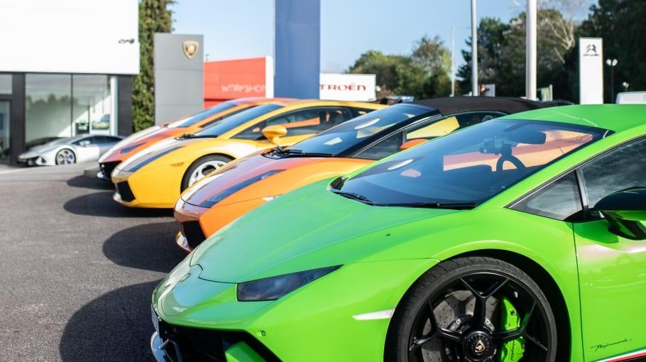 Lamborghini Manchester Breakfast Meet