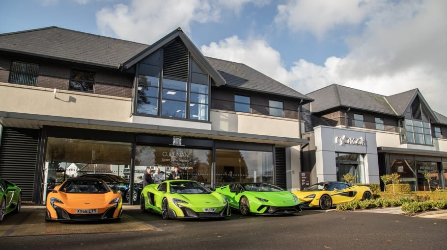 McLaren Birmingham Breakfast Meet