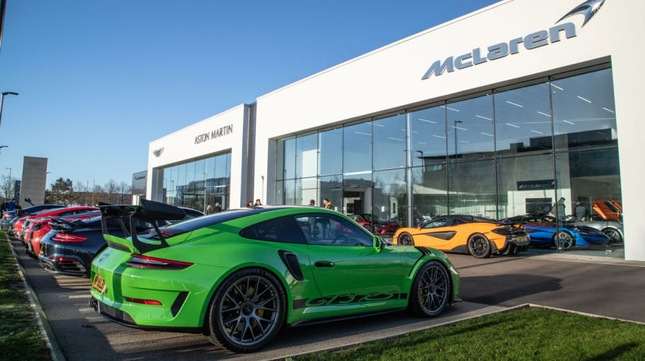 Grange Aston Martin & McLaren Lunch Meet