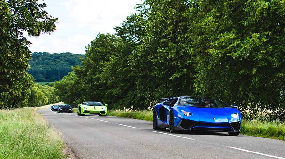 Lamborghini Drive Day