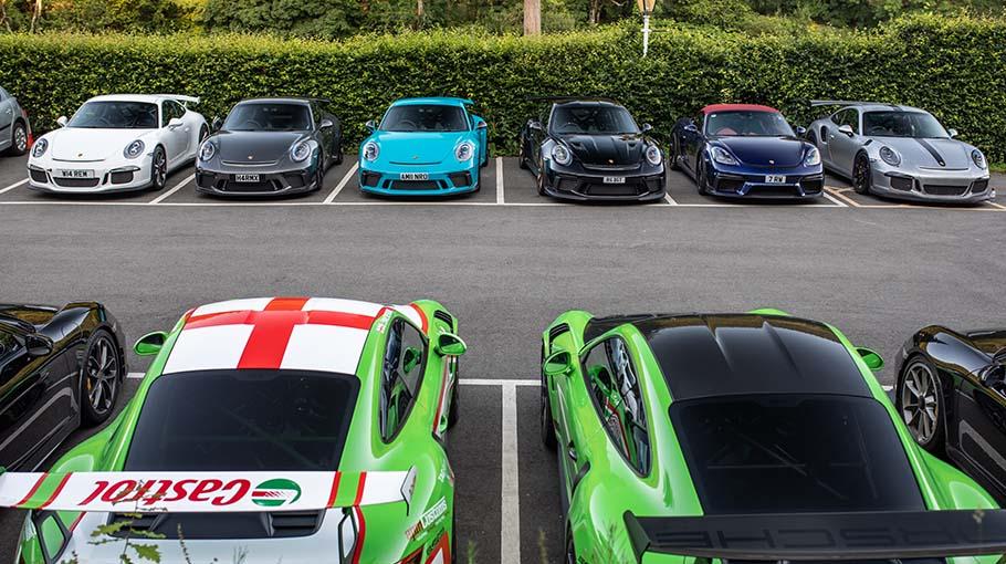 Porsche GT Wales Tour